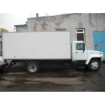 Фургон изотермический на удлиненную ГАЗ-3307,  3309